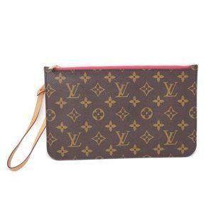 💯 Auth Louis Vuitton Pouch/Wristlet/ Clutch Bag
